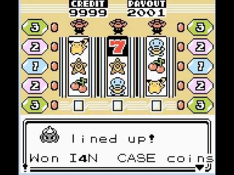 Pokemon Red Slot Machine